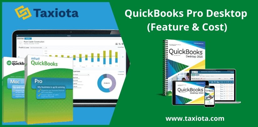 QuickBooks Pro Desktop (Features & Cost)