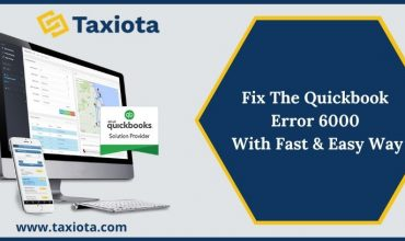 Fix The QuickBooks Error 6000 With Fast & Easy Way